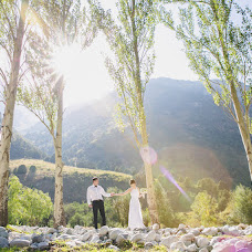 Bröllopsfotograf Malik Alymkulov (malik). Foto av 26.01.2016