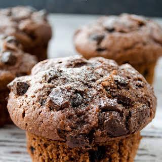 Chocolate Yogurt Muffins.