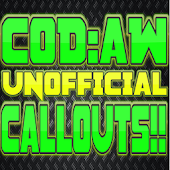 COD: AW UNOFFICIAL CALLOUTS