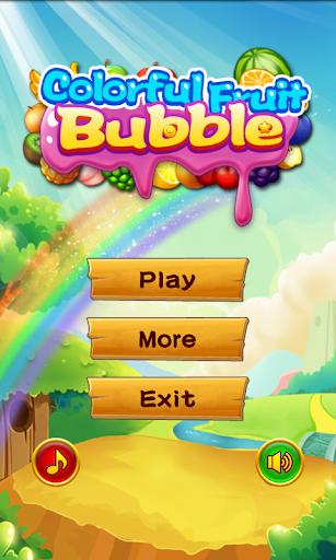 Colorful Fruit Bubble