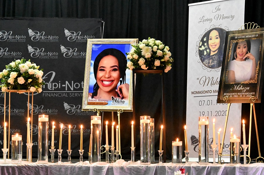SNAPS | Inside the touching celebration of Mshoza's life at memorial - TimesLIVE