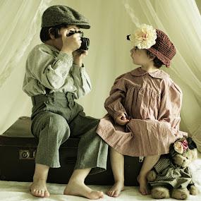 Rudi and Rudina by Pirjo-Leena Bauer - Babies & Children Children Candids