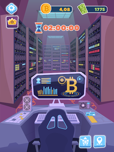 Bitcoin mining: life tycoon, idle miner simulator 1.0.3 screenshots 13