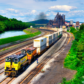 Bethlehem Railway  by Andrew Chung Chee Law - Transportation Trains ( hdr )
