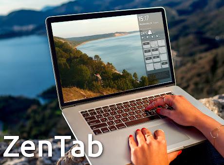 Zen tab: Beautiful, simple new tab