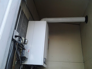 Photo: Breezy Point wall mounted Boiler