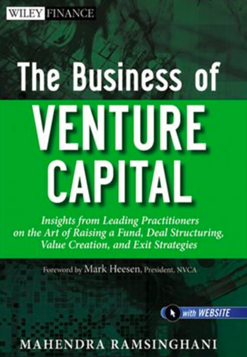 Book: The Business of Venture Capital
