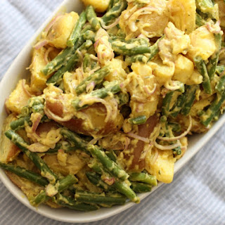 Potato Green Bean Salad {gluten free, dairy free, egg free, soy free}.