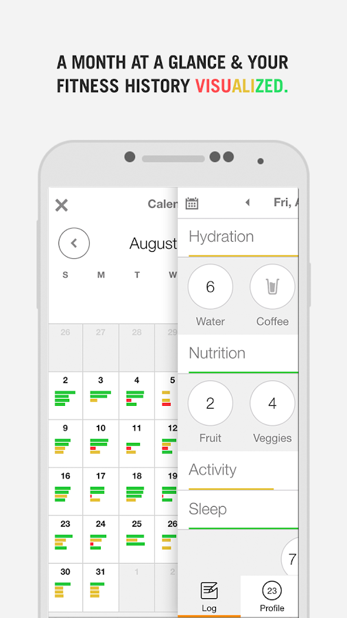 Nudge Health Tracking- screenshot