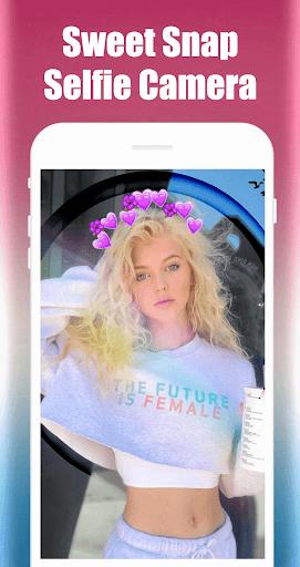 Sweet Snap Selfie Camera 2.12.0 screenshots 1