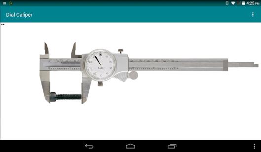 Dial Vernier Caliper Simulator - náhled