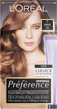 L'Oreal Paris Preference Infinia Hair Color - 7 Rimini Dark Blonde