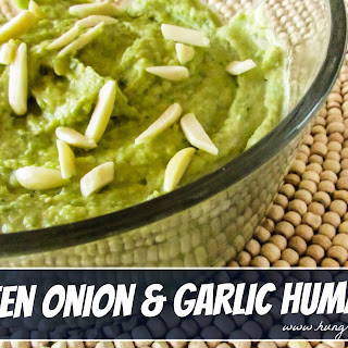 Green Onion & Garlic Hummus