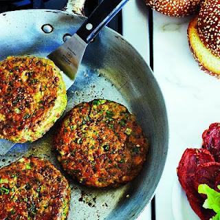 Chickpea-falafel Burger