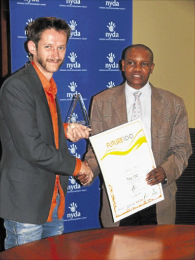Platinum award for young entrepreneur