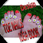 Toe Nail Designs Idea Book icon
