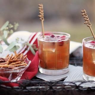 Cranberry Cinnamon Cocktail.