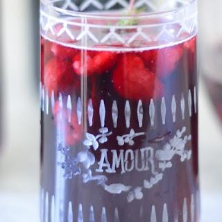 Raspberry Thyme Sangria.