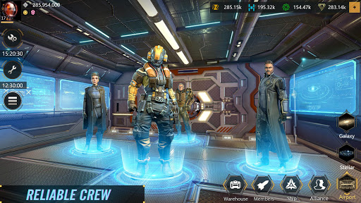 Code Triche Infinite Galaxy - Empire, starcraft, sci fi, mmo APK MOD screenshots 2