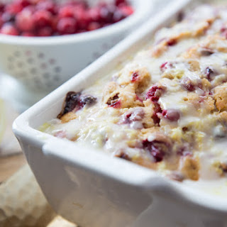 Lemon Cranberry Bread.