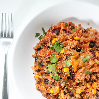 Chipotle Quinoa Casserole.