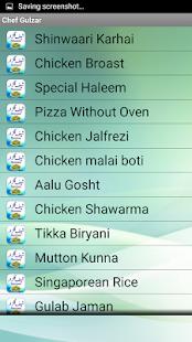 Chef Gulzar Recipes - náhled