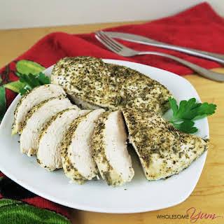 Juicy Italian-Seasoned Chicken Breast (Paleo, Low Carb).