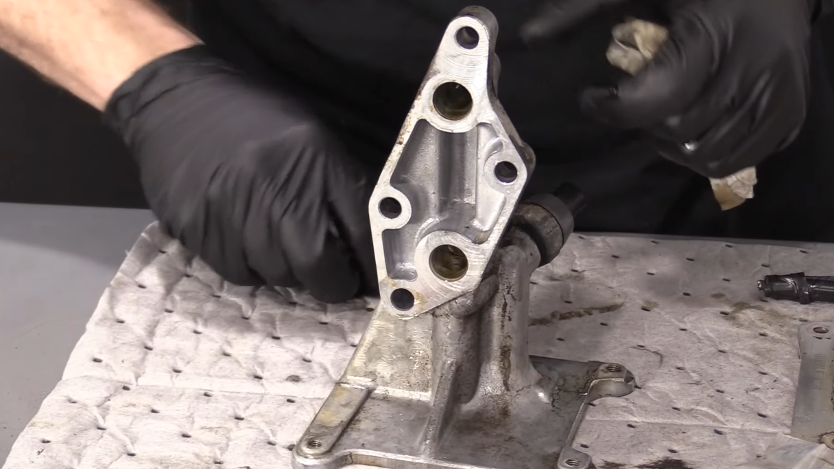 Image of clean oil cooler