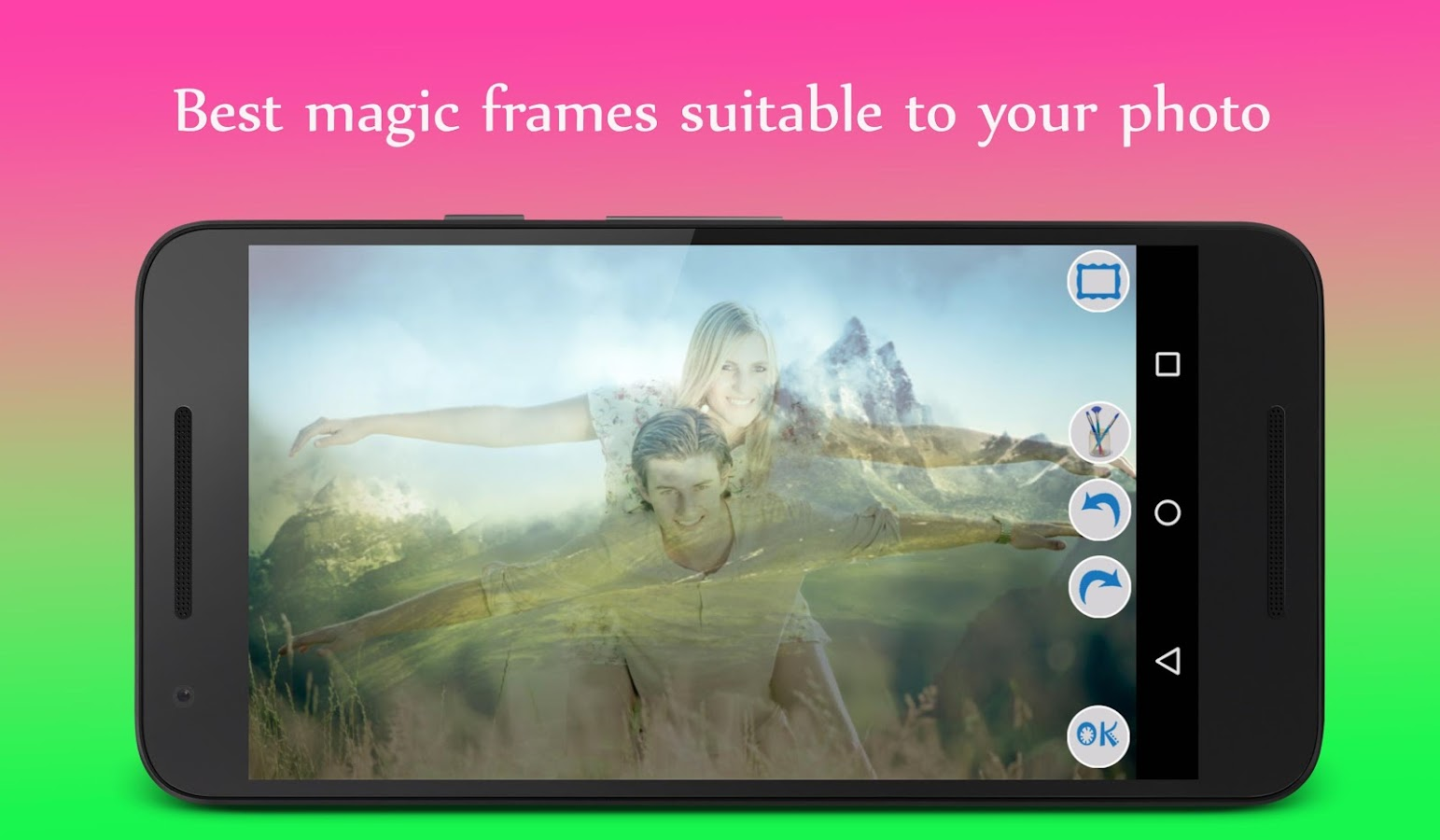 magic photo frames screenshot