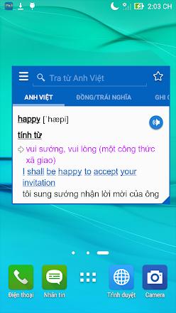 Từ điển tiếng Anh TFLAT 7.0.0 Mod VIP