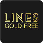 Lines Gold - Icon Pack (Free Version) 3.0.9
