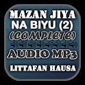 Mazan Jiya Na Biyu (2) - Audio Mp3 icon