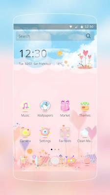 Lovely Pink Heart - screenshot
