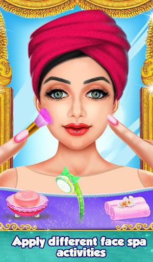 Indian Gopi Beauty Salon : Makeup Dressup Girls modavailable screenshots 11