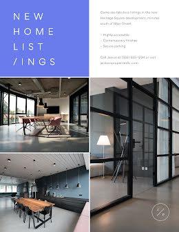 Jackson New Home Listings - Real Estate Flyer item