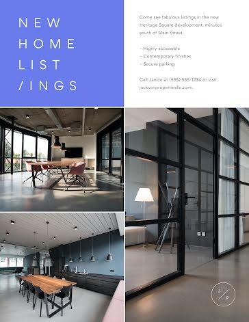 Jackson New Home Listings - Flyer template