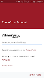 Master Lock Vault eLocks- screenshot thumbnail