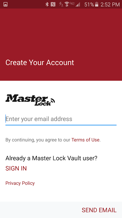 Master Lock Vault eLocks- screenshot