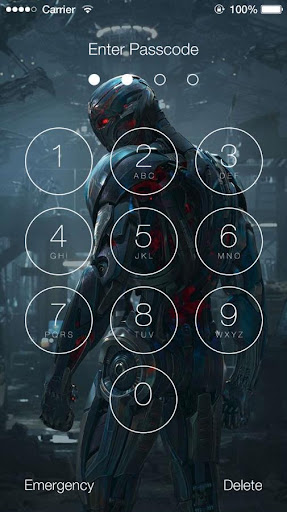 Avengers: Age of Ultron Lock Screen 1.4 screenshots 6