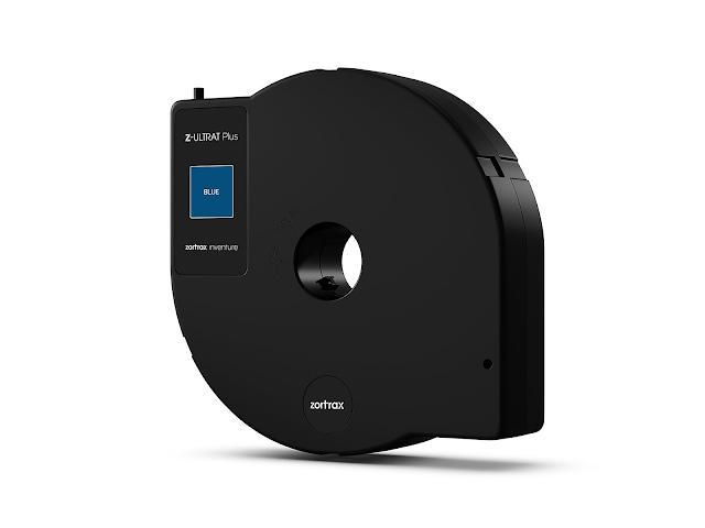 Zortrax Inventure Z-ULTRAT Plus Blue Filament - 1.75mm (0.35kg)