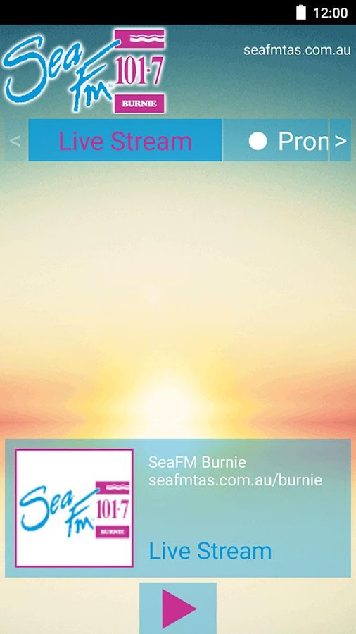 101.7 Sea FM Burnie- screenshot