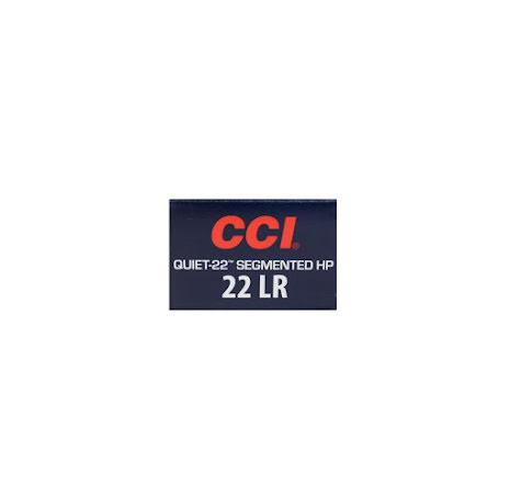CCI 22lr Quiet Segmented HP 40gr