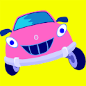 Vehicle and car games for kids icon