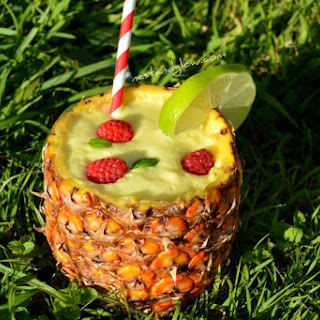 Sour Lime Pina Colada Cocktail
