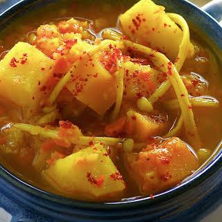 Vegetarian Yemenite Soup.