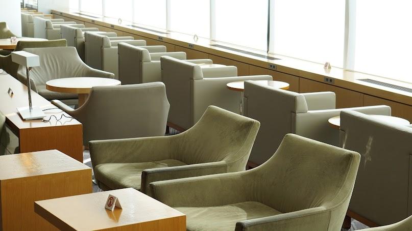 JAL, Japan Airlines, Narita, Sakura Lounge, NRT
