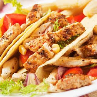 Kickin Chicken Tacos.