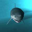 Shark Cage Dive 3D icon