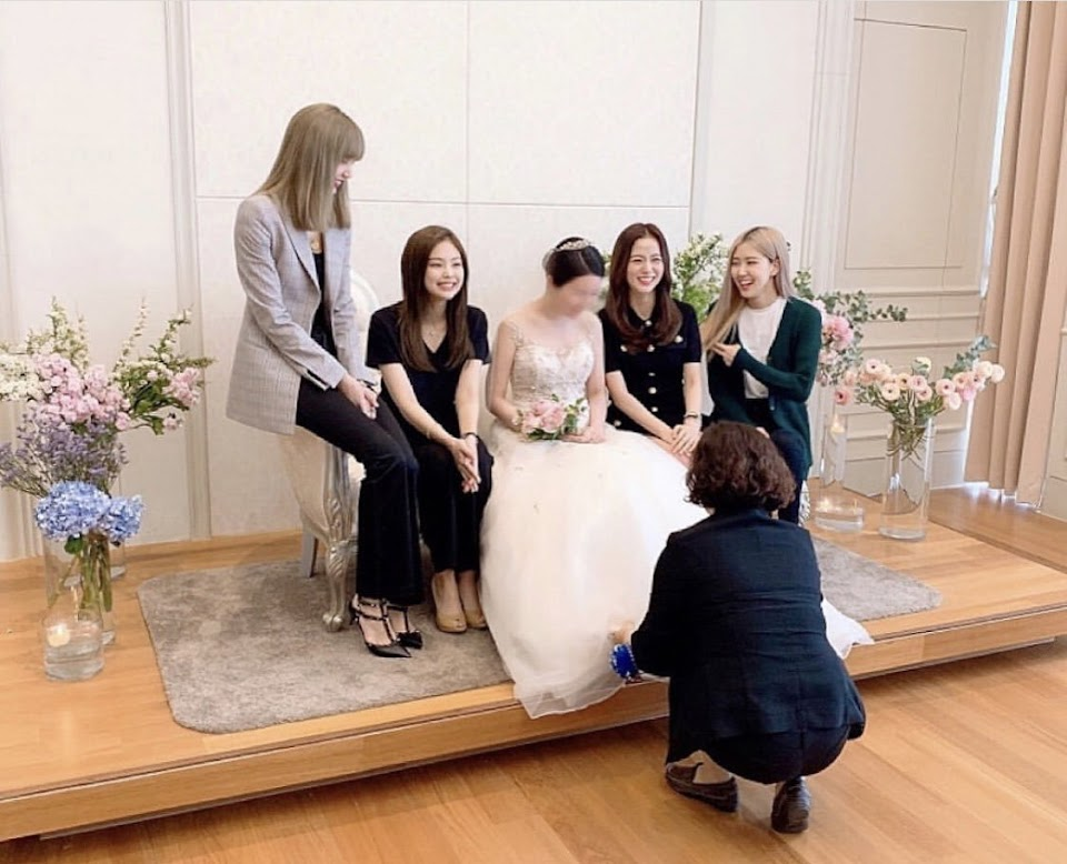 blackpink wedding