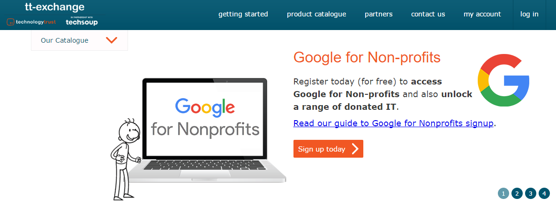 Non-Profit company 'TechSoup'